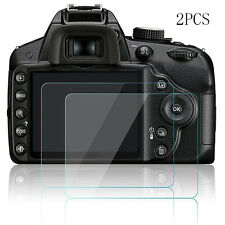 2pcs Hard Tempered Glass Screen Protector Film for Nikon D3200 D3300 D3400 Hot