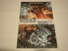Doctor Solar / Magnus: Robot Fighter Free Comic Book Day Jim Shooter Vf/Nm