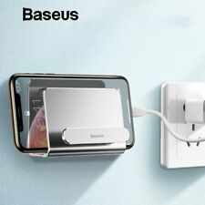 Baseus Universal Wall Mount Stand Cradle Mobile Phone Holder for iPhone Samsung