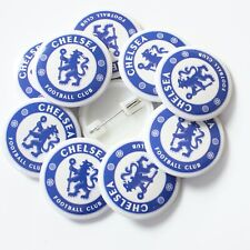 Wholesale 38mm Badges Official Chelsea Football Club Logo (White)