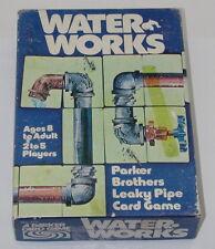 Water Works Card Game1976 Vintage Leaky Pipe Card Game