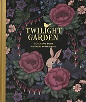 Twilight Garden Coloring Book Published in Sweden as Blomstermandala Gsp- Tr