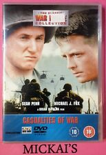 CASUALTIES OF WAR - THE CLASSIC WAR MOVIE COLLECTION CWMCN29 DeAGOSTINI DVD PAL