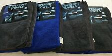 MICROFIBER SUPERSOFT TOWELS (Car Cleaning & General Purpose) 24 Pieces NEW