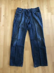 Mossimo Supply Co. Logan Men's Relaxed Straight Denim Jeans / Pants 32 x 30