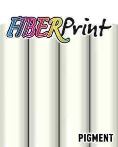 SEF FiberPrint - Inkjet Printable Flock Heat Transfer Vinyl - White