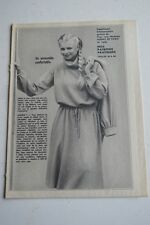""" MODES de PARIS "" PATRON SUPPL. DU N°1600 // ENSEMBLE BLOUSON ROBE T 44 A 48"