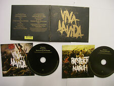 COLDPLAY Viva La Vida/Prospekt's March – 2008 MALAYSIAN 2 x CD set – V RARE!