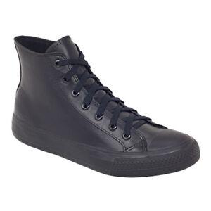 ROC Hanoi ll Junior Senior Black Leather School Shoes