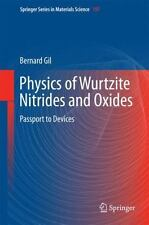 Springer Series in Materials Science Ser.: Physics of Wurtzite Nitrides and...