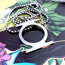 Green Lantern Corps - Stainless Steel Pendant & Ballchain Necklace - BRAND NEW!