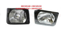 LAND ROVER DISCOVERY 2 99-02 HEAD LAMP HEADLAMP SET LH RH XBC105150 XBC105140