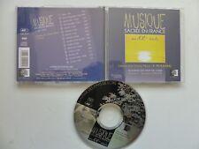 CD Album Musique sacrée en France au XX° siècle  Litanies vierge noire POULENC