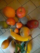 Lot De Fruits Décoratifs