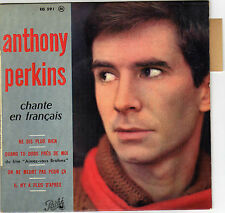 ANTHONY PERKINS NE DIS PLUS RIEN (BORIS VIAN) FRENCH ORIG EP ANDRE POPP