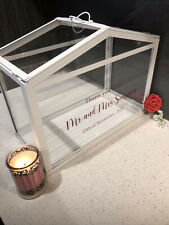 Wedding/Event Wishing Well Card Box. Personalised. Several Colours Avaliable.