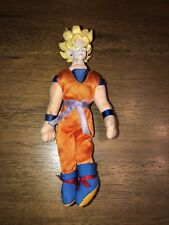 "2000 Bird Studio DBZ Dragon Ball Z Super Saiyan Goku Bendable Figure 5"" (1)$"