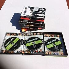 Entourage DVDs Season 1-5. Like New Watched Once. HBO Series With Bonus Feature