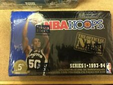 1993/94 Hoops BASKETBALL Series 1 FACTORY SEALED BOX Damaged