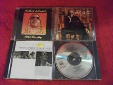 Lot of  4 Stevie Wonder Motown CDs