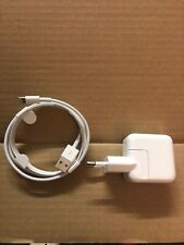 100% Genuine/Official Apple EU iPad iPhone iPod 10w USB Mains Charger Plug Cable