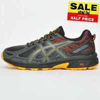 Asics Gel Venture 6 Men's All Terrain Trail Outdoor Running Shoes Grey