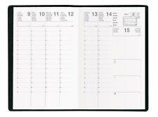 Agenda Semainier Scolaire 2017/2018 c: Noir - Format  :10x15 cm NEUF