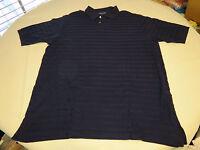 Polo Golf Ralph Lauren Mens short sleeve polo shirt XL navy blue pima cttn GUC@