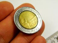Italy 500 lira 1988 year coin collectible coin money for collection #17