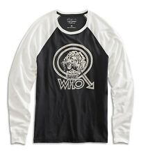 Lucky Brand - Men's M - NWT $49 - The Who Concert Lion Graphic Baseball T-Shirt