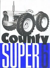 County Super 4 & 6 Operation & Parts Manual 110pg Tractor Service & Maintenance