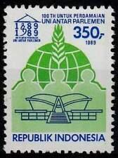 Indonesië postfris 1989 MNH 1389 - IPU 100 Jaar