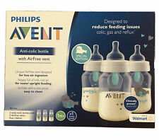 Philips Avent Anti-colic Baby Bottle w/ Air Free Vent Special Edition 3 9 oz