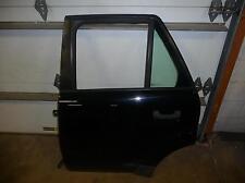 02-04 VUE Black 8555 Driver Left Rear Door Power 2857 A Hinges Glass Regulator
