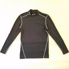 Under Armor Compression Shirt Coldgear Black Mens Large Longsleeve