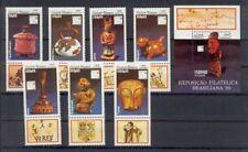 Guinea-Bissau 1065-1071 + Block 280  postfrisch ** Kunstgegenstände