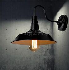 Vintage Retro iron Industrial Loft Rustic Wall Sconce Light Garden Lamp Fixture
