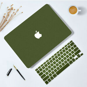 Rubberized Matte Skin Case Cover For MacBook Air Pro Retina + Silicone KB Cover