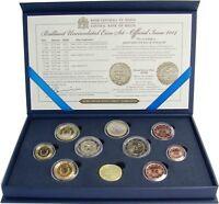 Malta 2014 KMS 1 Cent bis 2 Euro 50 Jahre Unabhängigkeit mit Münzzeichen im Etui