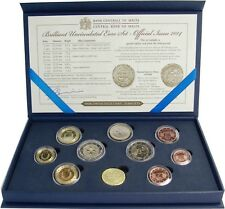 Malta 2014 KMS 1 cent a 2 euro 50 anni indipendenza con marchio in astuccio