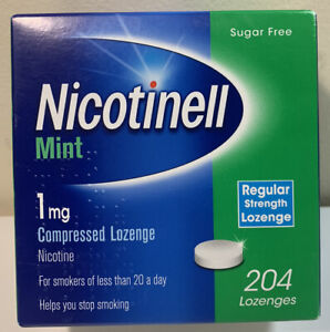 Nicotinell Mint 1mg Lozenge - 204 Lozenges