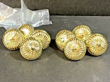 KBC Brass Drawer Knobs set of 8