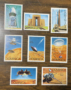 Dominica #494-501 MNH Complete Set 1976 Viking Mission To Mars