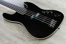 Fender Aerodyne 4-String Jazz Electric Bass Guitar SS Rosewood Fingerboard Black