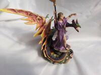 Leonardo Legends and Dreams Figure Corinnia Queen of the Dragons In original Box