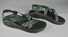Chaco Z/2 Classic Vortex Green Sandals Mens Size 13 EUR 46 Outdoor Hiking Sport