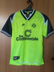 Borussia Dortmund BVB Nike home shirt jersey trikot 95-96 season Size L-boys