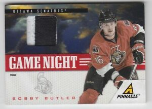 2011-12 PANINI PINNACLE BOBBY BUTLER PRIME PATCH /30 GAME USED #5 Game Night Sen