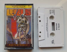 LEVEL 5 -SINCLAIR ZX SPECTRUM SPANISH CASSETTE / AMSTRAD - MASTERTRONIC