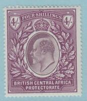 BRITISH CENTRAL AFRICA 66 MINT HINGED OG *  NO FAULTS EXTRA  FINE !